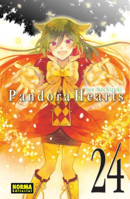 Pandora Hearts manga Tomo 24