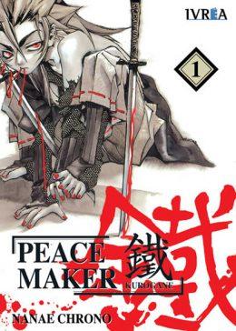 Peacemaker Kurogane Manga Tomo 1