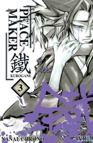 Peacemaker Kurogane Manga Tomo 3