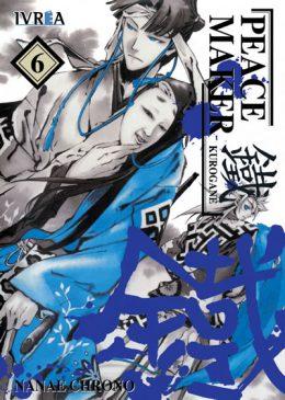 Peacemaker Kurogane Manga Tomo 6