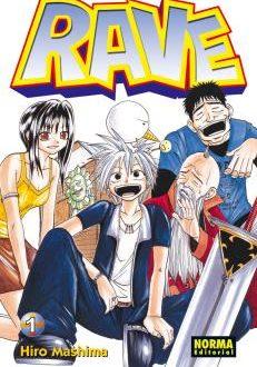Rave manga Tomo 1