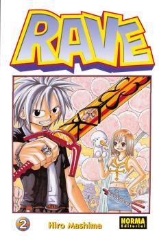 Rave manga Tomo 2