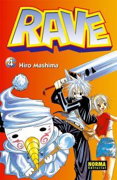 Rave manga Tomo 4