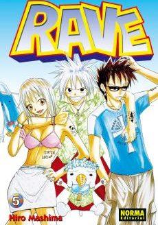 Rave manga Tomo 5