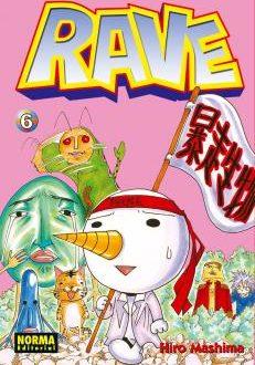 Rave manga Tomo 6