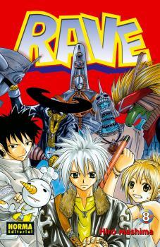 Rave manga Tomo 8