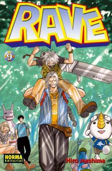 Rave manga Tomo 9