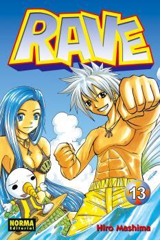 Rave manga Tomo 13