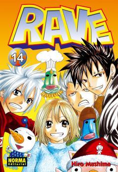 Rave manga Tomo 14