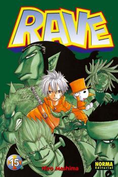 Rave manga Tomo 15