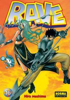 Rave manga Tomo 16