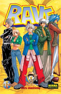 Rave manga Tomo 17