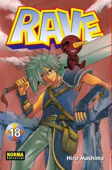 Rave manga Tomo 18