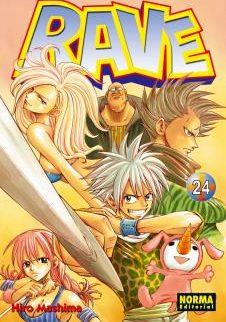 Rave manga Tomo 24