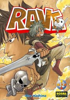Rave manga Tomo 32