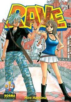 Rave manga Tomo 34