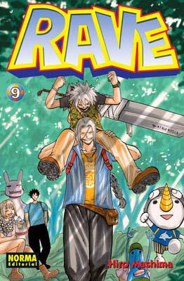 Manga Rave Tomo 09