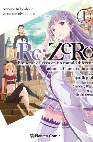 Manga Re:Zero 01