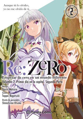 Manga Re: Zero 02