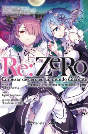 Manga Re:Zero Chapter 2 tomo 01