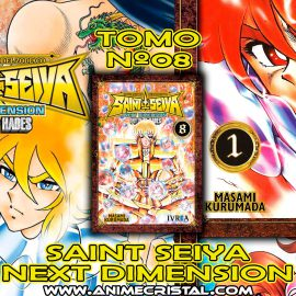 Manga Saint Seiya Next Dimension 08