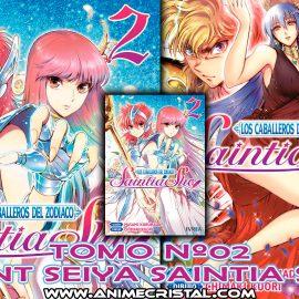 Manga Saint Seiya Saintia Sho 02