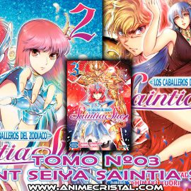 Manga Saint Seiya Saintia Sho 03