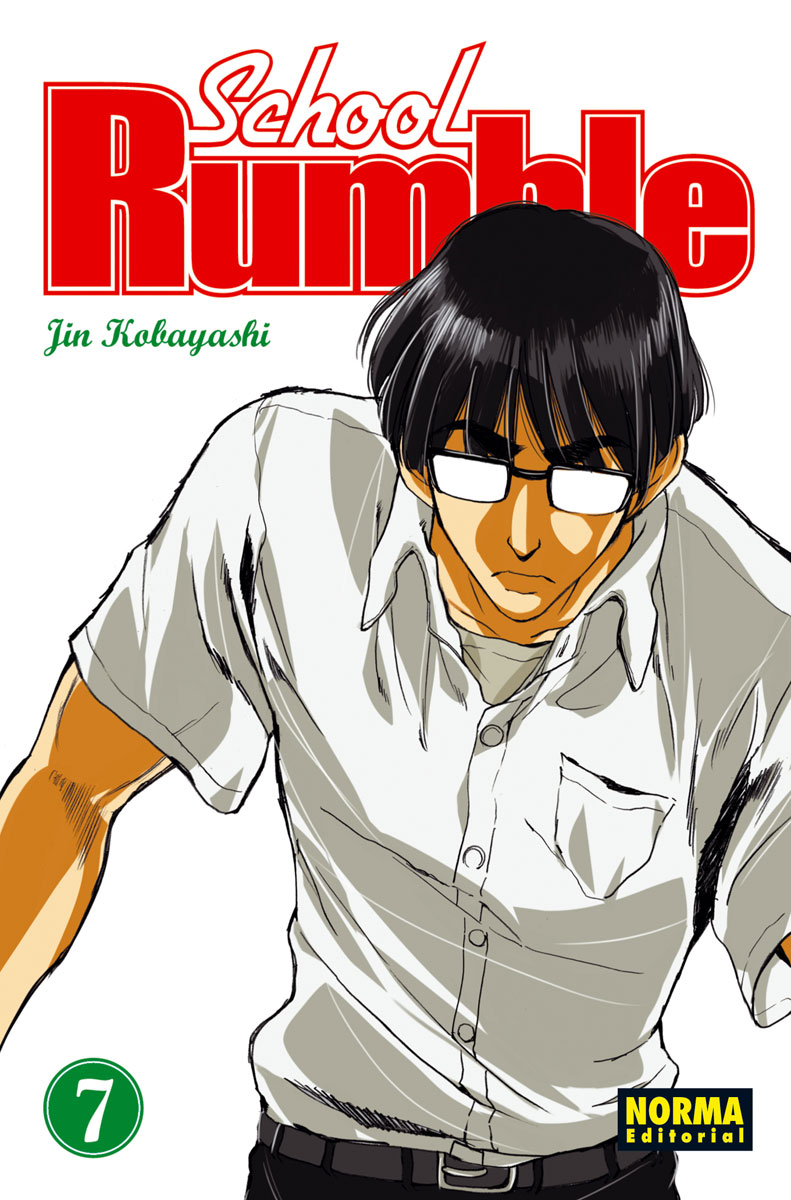 School Rumble manga Tomo 7