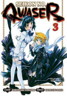 Seikon No Qwaser Manga Tomo 3