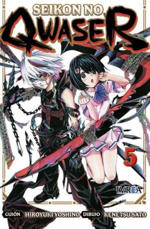 Seikon No Qwaser Manga Tomo 5