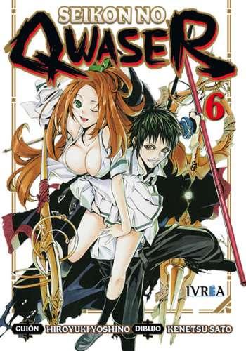 Seikon No Qwaser Manga Tomo 6