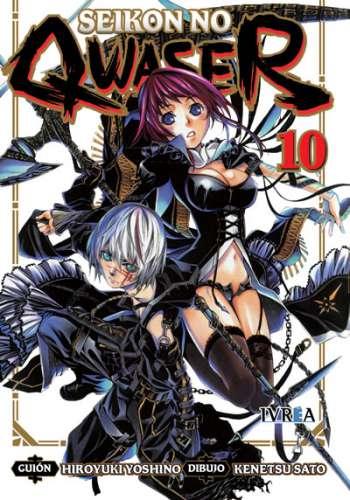 Seikon No Qwaser Manga Tomo 10
