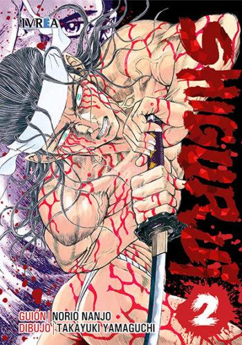 Shigurui manga tomo 2