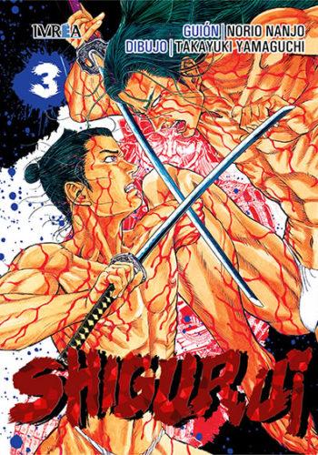 Shigurui manga tomo 3