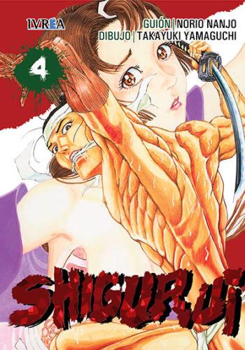 Shigurui manga tomo 4