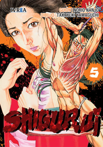 Shigurui manga tomo 5