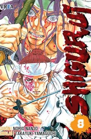 Shigurui manga tomo 8
