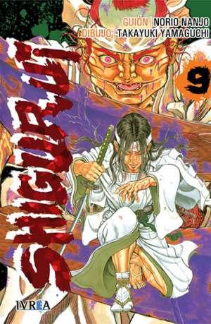 Shigurui manga tomo 9