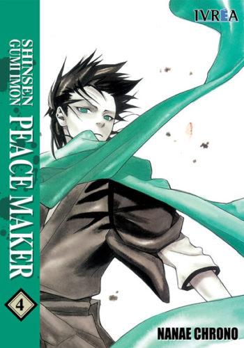 Shinsengumi Imon Peacemaker Manga Tomo 4