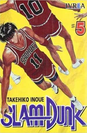 Slam Dunk Manga Tomo 5