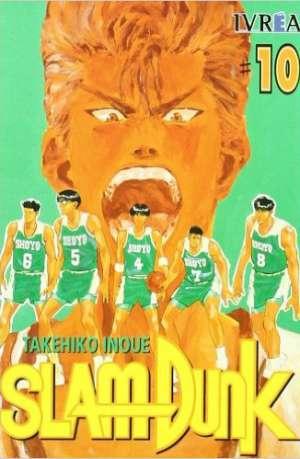 Slam Dunk Manga Tomo 10