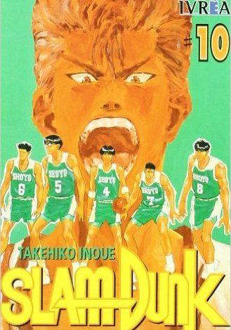 Manga Slam Dunk tomo 10