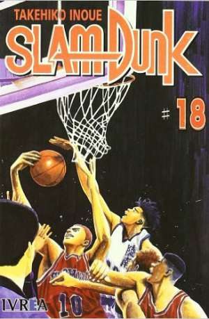 Slam Dunk Manga Tomo 18