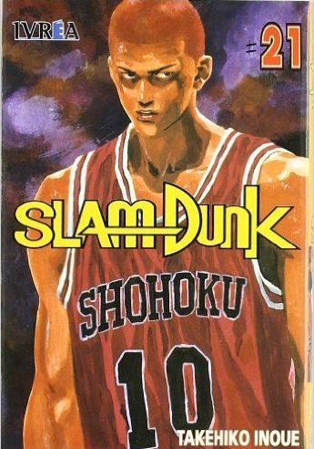 Manga Slam Dunk tomo 21