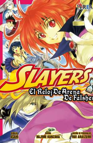 Slayers El Reloj De Arena De Falshes