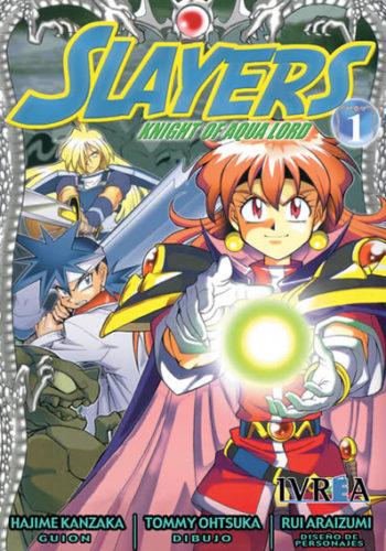 Slayers Knight Of Aqua Lord manga tomo 1
