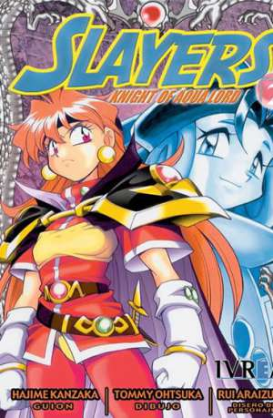 Slayers Knight Of Aqua Lord manga tomo 2