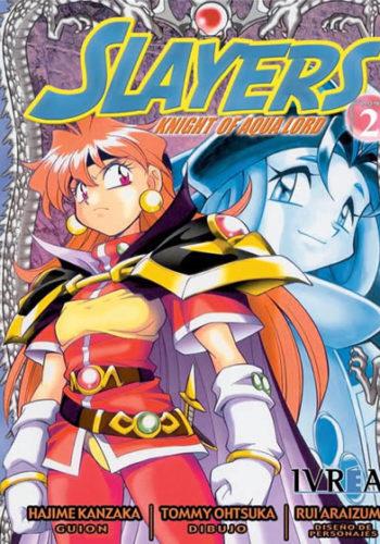 Slayers Knight Of Aqua Lord manga tomo 2