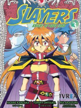 Slayers Knight Of Aqua Lord manga tomo 3