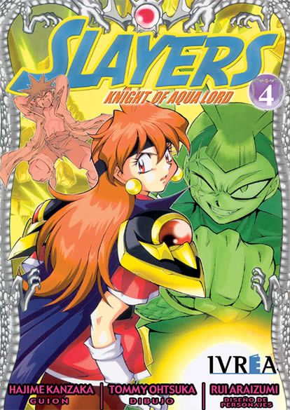 Slayers Knight Of Aqua Lord manga tomo 4